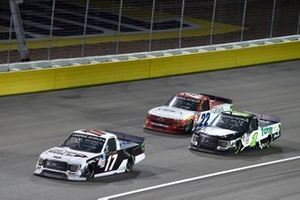 David Gilliland, Team DGR, Ford F-150, Hailie Deegan, Team DGR, Ford F-150 Toter/Engine Ice