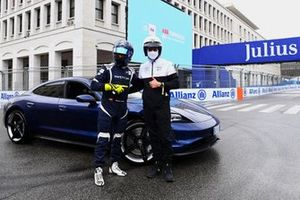 Patrick Dempsey, Safety Car driver Bruno Correia