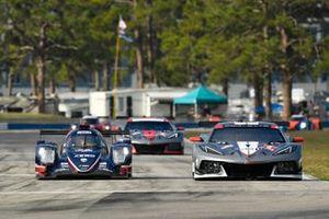 #22 United Autosports ORECA LMP2 07, LMP2: James McGuire, Wayne Boyd, Guy Smith, #4 Corvette Racing Corvette C8.R, GTLM: Tommy Milner, Nick Tandy, Alexander Sims