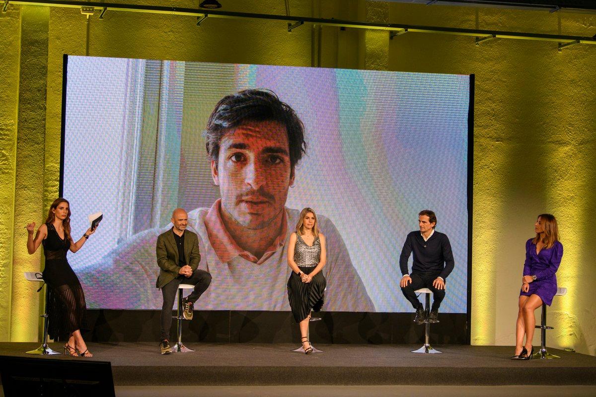 Carlos Sainz, en la presentación de DAZN F1 2021
