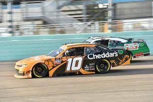 Jeb Burton, Kaulig Racing, Chevrolet Camaro, Harrison Burton, Joe Gibbs Racing, Toyota Supra Hunt Brothers Pizza/DEX Imaging