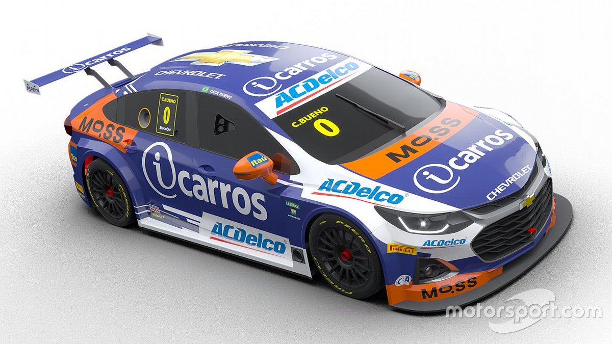 Carro de Cacá Bueno para temporada 2021 da Stock Car