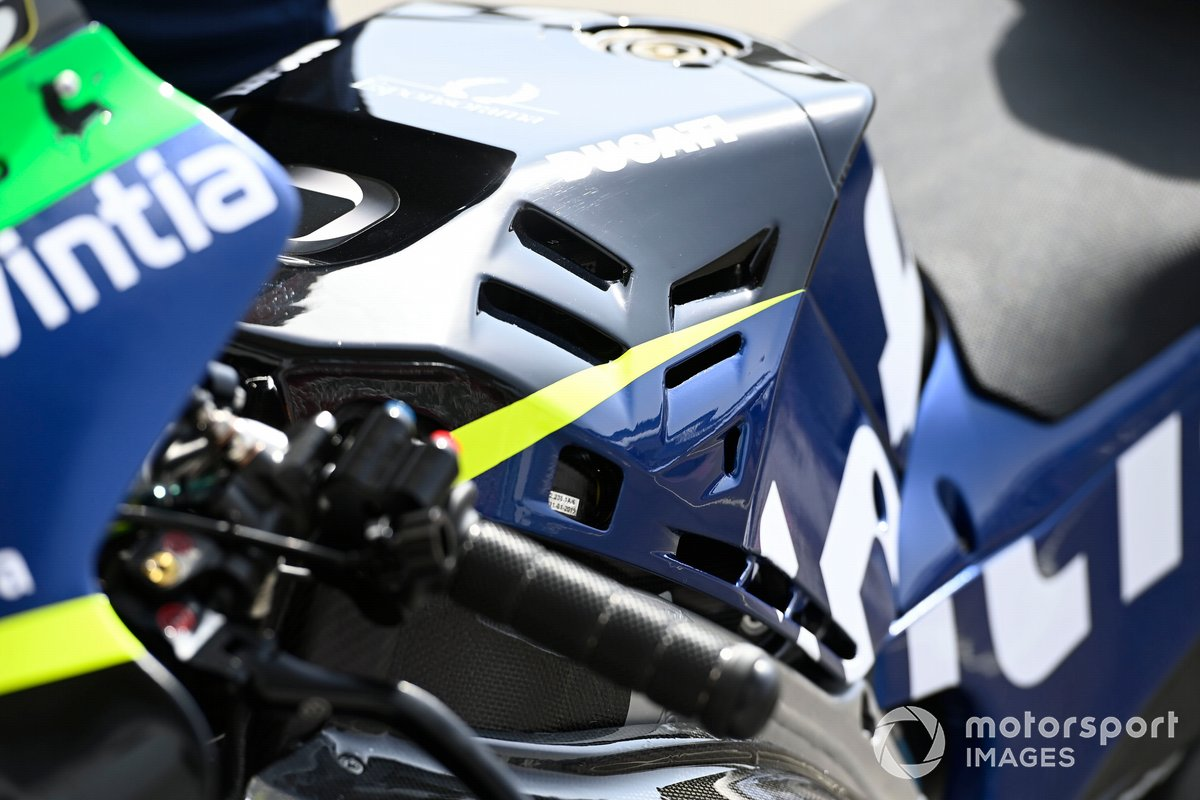 Moto del Esponsorama Racing