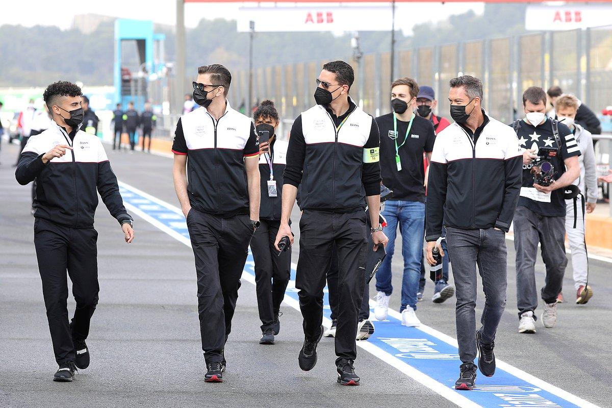 Pascal Wehrlein, TAG Heuer Porsche y André Lotterer, TAG Heuer Porsche