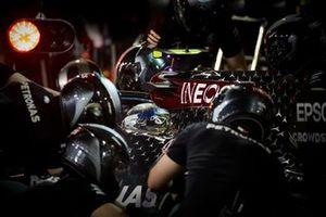 Valtteri Bottas, Mercedes F1 W11 fait un arrêt