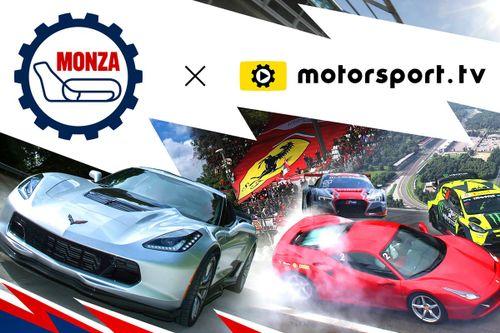 Autodromo Nazionale Monza goes live with Motorsport.tv