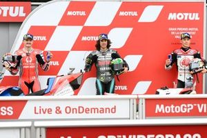 Jack Miller, Pramac Racing, Franco Morbidelli, Petronas Yamaha SRT, Takaaki Nakagami, Team LCR Honda