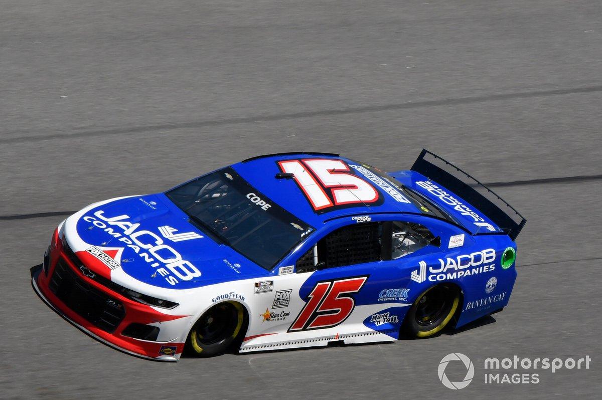 32. Derrike Cope, Rick Ware Racing, Chevrolet Camaro