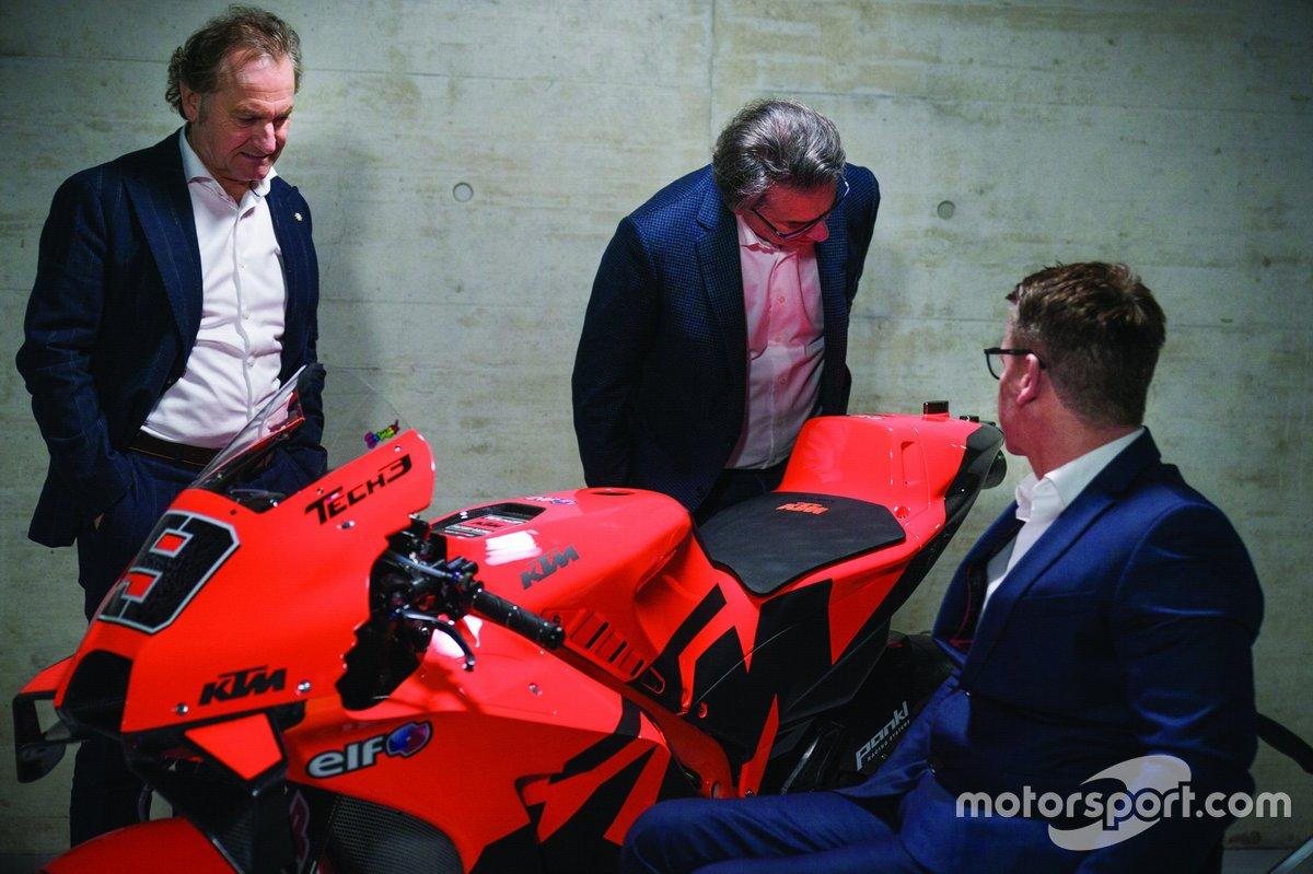 Hubert Trunkenpolz, Pit Beirer, Stefan Pierer, KTM Factory Racing