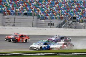 Chris Buescher, Roush Fenway Racing, Ford Mustang Austin Dillon, Richard Childress Racing, Chevrolet Camaro