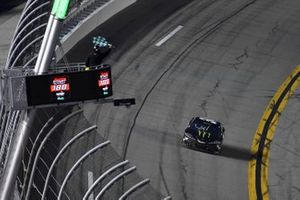 Ty Gibbs, Joe Gibbs Racing, Toyota Supra Monster Energy wins the stage