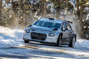 Yoann Bonato, Benjamin Boulloud, Citroen C3 Rally2