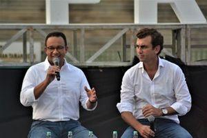 Anies Baswedan, Alberto Longo, Formula E Jakarta