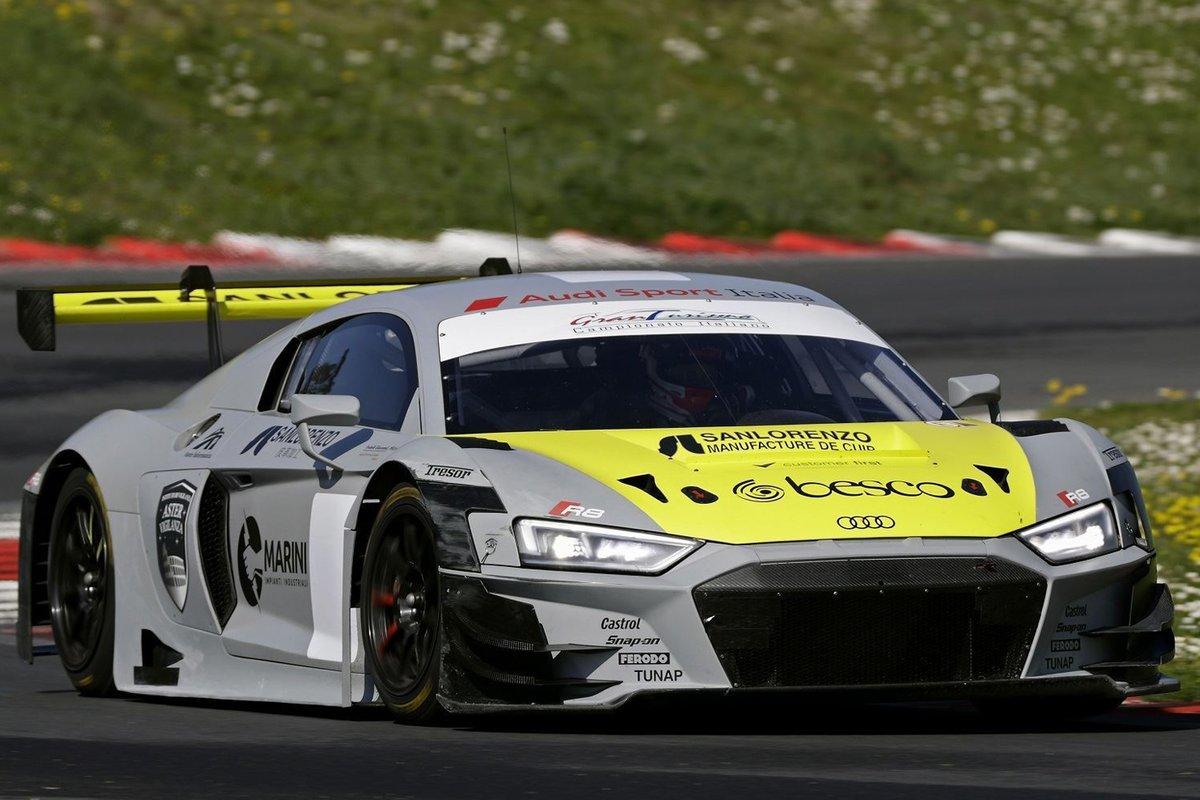 Audi Sport Team Italia, Audi R8 LMS GT3 Evo