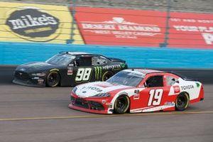 Riley Herbst, Stewart-Haas Racing, Ford Mustang Monster Energy, Brandon Jones, Joe Gibbs Racing, Toyota Supra Toyota