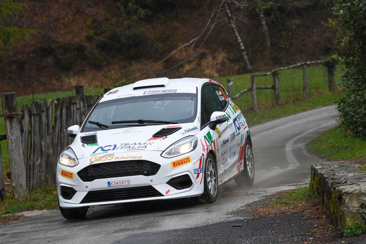 Francesco Lovati, Giacomo Ciucci, Gass Racing, ACI Team Italia, Ford Fiesta Rally4