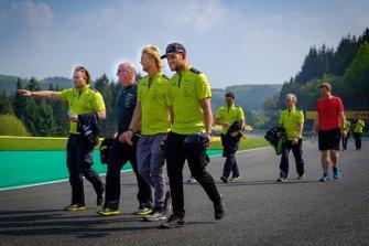 Aston Martin Racing track walk