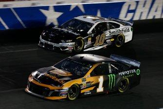 Kurt Busch, Chip Ganassi Racing, Chevrolet Camaro GEARWRENCH/Monster Energy Aric Almirola, Stewart-Haas Racing, Ford Mustang Smithfield