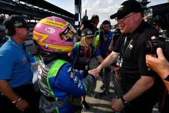 Pippa Mann, Clauson-Marshall Racing Chevrolet, Jim Campbell