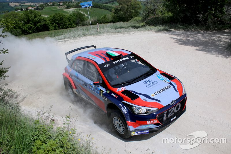 Umberto Scandola, Guido D Amore, Hyundai i20 R5, Movisport