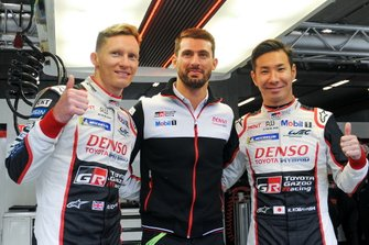 Pole position for #7 Toyota Gazoo Racing Toyota TS050: Mike Conway, Kamui Kobayashi, Jose Maria Lopez