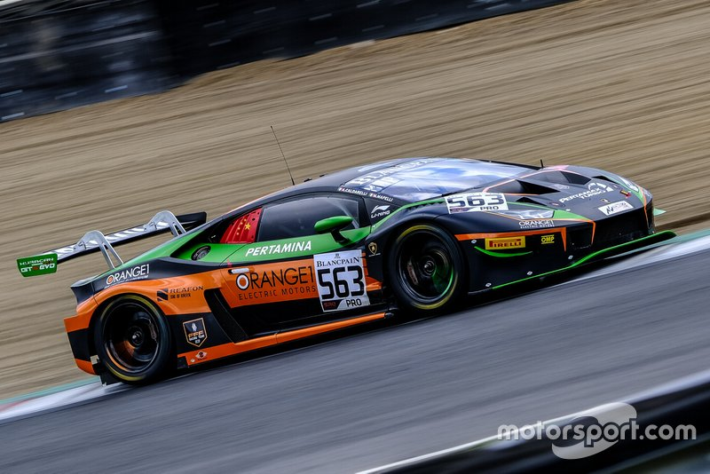 #563 Orange 1 FFF Racing Team Lamborghini Huracan GT3 2019: Andrea Caldarelli, Marco Mapelli