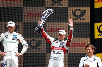 Podio: il terzo classificato Loic Duval, Audi Sport Team Phoenix