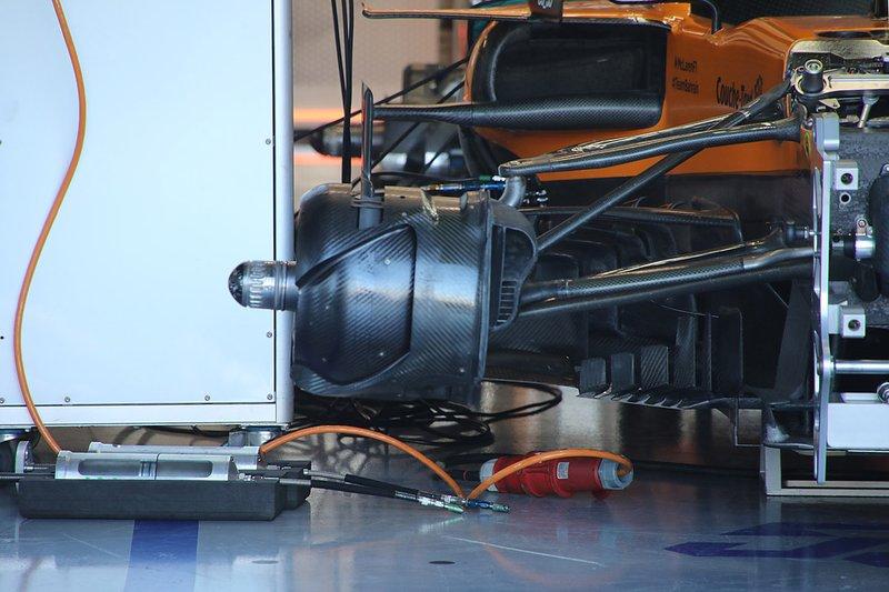 Freins avant de la McLaren MCL34
