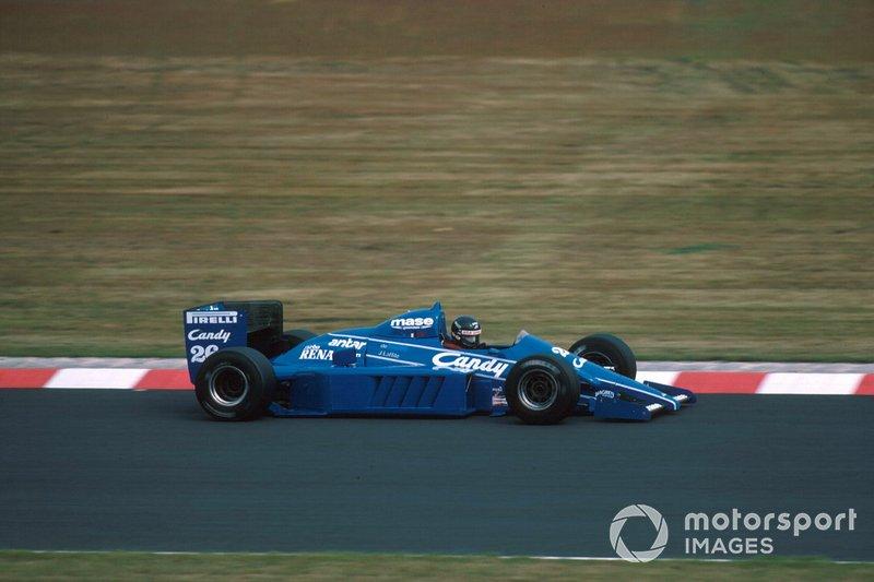 11 - (18 posiciones): Jacques Laffite, Ligier: 20º a 2º en el GP de Australia de 1985