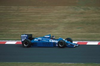 Jacques Laffite (FRA) Ligier JS25, 3rd place. German Grand Prix, Rd9, Nurburgring, Germany, 4 August 1985.