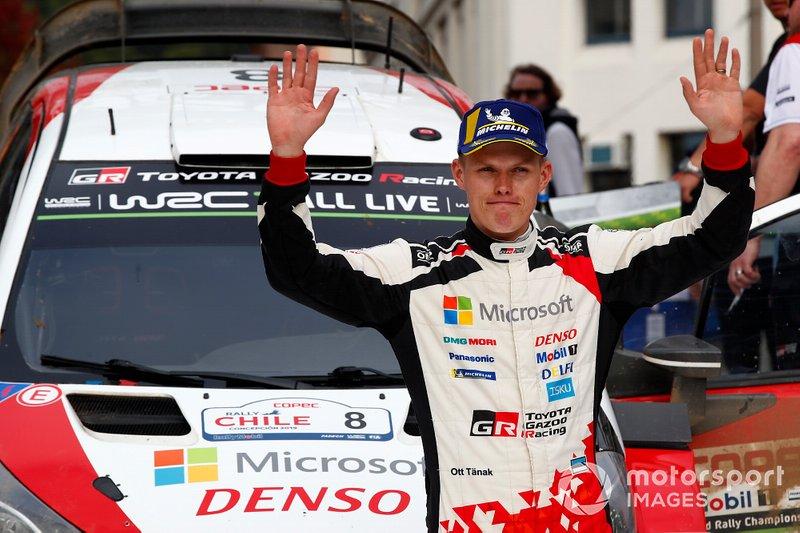 2. WRC: Ott Tanak na Hyundai