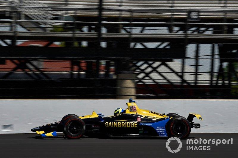 #26 Zach Veach, Gainbridge, Andretti Autosport Honda