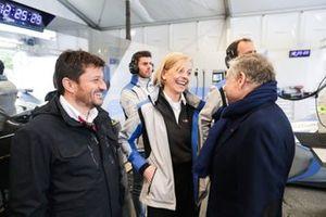 Susie Wolff, Team Principal, Venturi Formula E, Jean Todt, FIA President