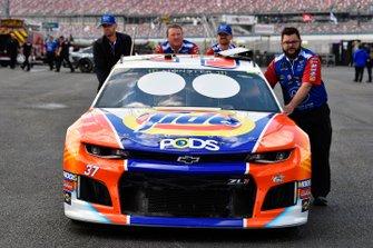 Chris Buescher, JTG Daugherty Racing, Chevrolet Camaro Tide Pods