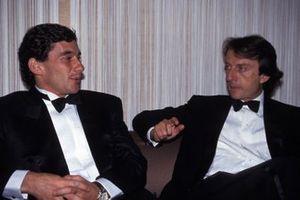 Ayrton Senna and Luca di Montezemolo