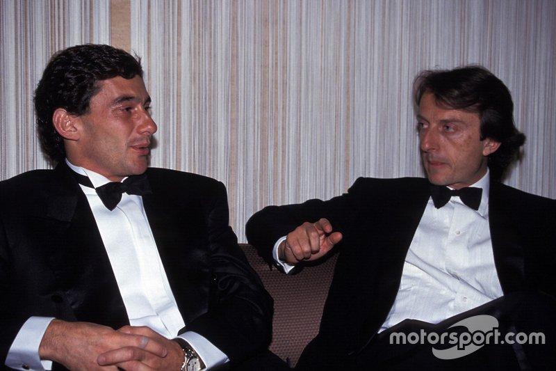 Ayrton Senna ve Luca di Montezemolo