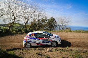 Jan Talas, Ondrej Krajca, Peugeot 208 R2, FIA ERC, Rallye Azores