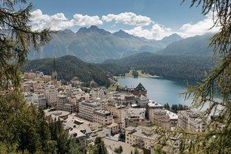 St Moritz, vue générale2
