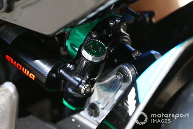 Showa suspension on Jonathan Rea, Kawasaki Racing Team bike