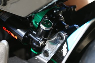 Showa suspension on Jonathan Rea, Kawasaki Racing Team bike