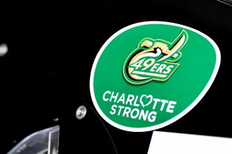 Jimmie Johnson, Hendrick Motorsports, Chevrolet Camaro Ally Charlotte Strong decal
