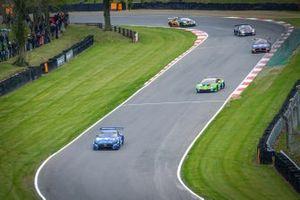 Acción de carrera en Brands Hatch