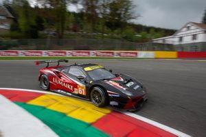#61 Clearwater Racing Ferrari 488 GTE: Luis Perez Companc, Matteo Cressoni , Matthew Griffin