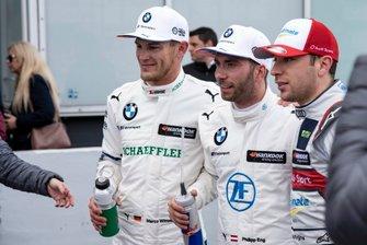 Marco Wittmann, BMW Team RMG, Philipp Eng, BMW Team RBM, Robin Frijns, Audi Sport Team Abt Sportsline