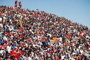 Fans fill the grandstands