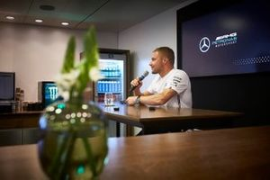 Valtteri Bottas, Mercedes AMG F1, ad una conferenza stampa