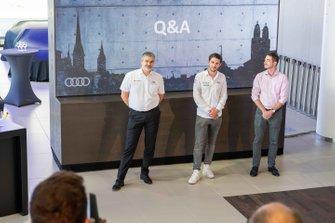 Dieter Gass, Audi Motorsport and Daniel Abt, Audi Sport ABT Schaeffler