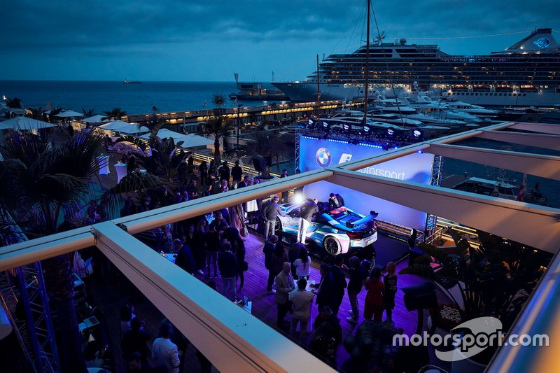 "Unveil of the BMW i8 Roadster Safety Cars at ""Yacht Club de Monaco"""