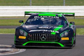 #43 Strakka Racing Mercedes-AMG GT3: Lewis Williamson, Dev Gore, Jack Hawksworth