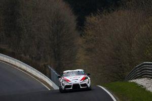 #154 Toyota GR Supra: Hisashi Yabuki, Uwe Kleen